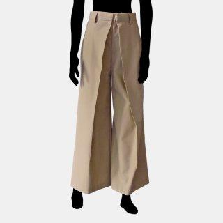 AKIKO AOKI<br>Wide pleated trousers