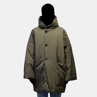 VOAAOV<br>down hooded midle coat