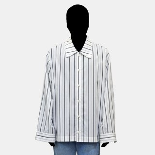 VOAAOV<br>stripe box shirt blouson
