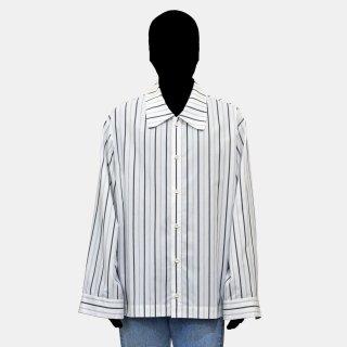 VOAAOV<br>stripe box shirt blouson
