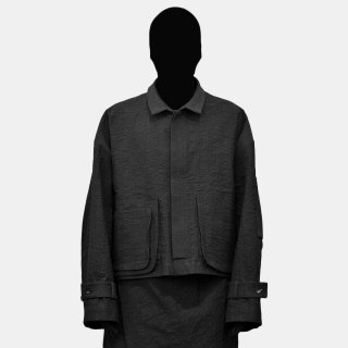 VOAAOV<br> chlorination shrink wide blouson<img class='new_mark_img2' src='https://img.shop-pro.jp/img/new/icons2.gif' style='border:none;display:inline;margin:0px;padding:0px;width:auto;' />