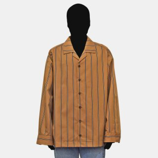 VOAAOV<br> stripe box shirt blouson
