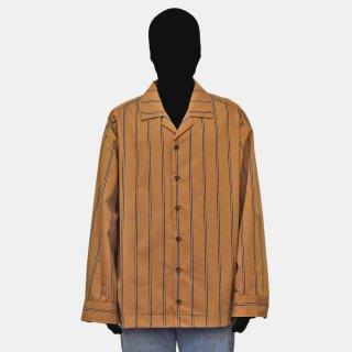 VOAAOV<br> stripe box shirt blouson