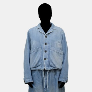 yoko sakamoto<br>CROPPED COACHES JACKET<img class='new_mark_img2' src='https://img.shop-pro.jp/img/new/icons2.gif' style='border:none;display:inline;margin:0px;padding:0px;width:auto;' />