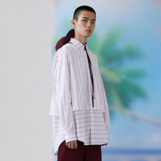 FFIXXED STUDIOS<br>LAYERED SHIRT<img class='new_mark_img2' src='https://img.shop-pro.jp/img/new/icons2.gif' style='border:none;display:inline;margin:0px;padding:0px;width:auto;' />