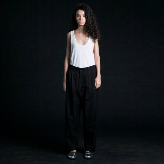 my beautiful landlet<br>cotton linen wide pants (BLACK)<img class='new_mark_img2' src='https://img.shop-pro.jp/img/new/icons2.gif' style='border:none;display:inline;margin:0px;padding:0px;width:auto;' />