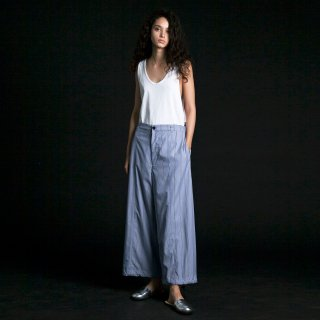 my beautiful landlet<br>typewriter stripe wide pants