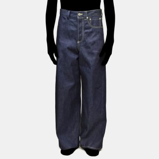 tac:tac<br>HALF STITCH DENIM PANTS