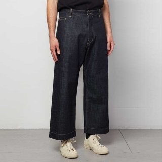 STUDIO NICHOLSON<br>SELVEDGE DENIM CLASSIC PANTS