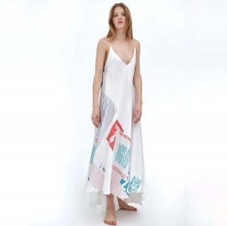 TTSWTRS<br>FLOOR SKIMMING DRESS