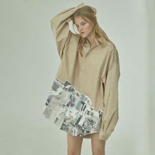 TTSWTRS<br>OVERSIZED SHIRT -COLLAGE-