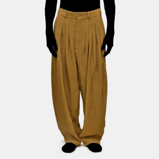 HED MAYNER<br>24 Pleat Pants (CINNAMON)<img class='new_mark_img2' src='https://img.shop-pro.jp/img/new/icons20.gif' style='border:none;display:inline;margin:0px;padding:0px;width:auto;' />