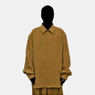 HED MAYNER<br>Open Back Shirt (CINNAMON)