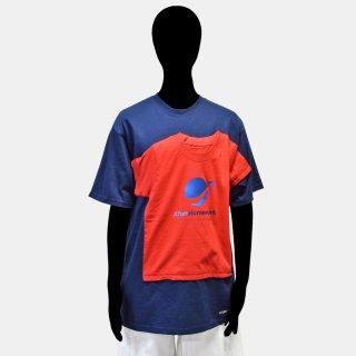 AFTERHOMEWORK<br>DOUBLE T-SHIRT<img class='new_mark_img2' src='https://img.shop-pro.jp/img/new/icons2.gif' style='border:none;display:inline;margin:0px;padding:0px;width:auto;' />