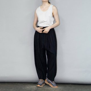 my beautiful landlet<br>cotton nylon wide easy pants<img class='new_mark_img2' src='https://img.shop-pro.jp/img/new/icons2.gif' style='border:none;display:inline;margin:0px;padding:0px;width:auto;' />