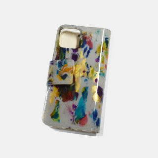 macromauro<br>paint gray iphone case(A)<br>※iphone11 pro 対応