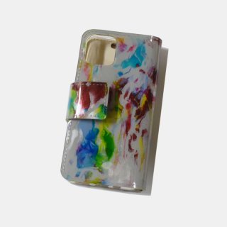 macromauro<br>paint gray iphone case(B)<br>※iphone11 pro 対応