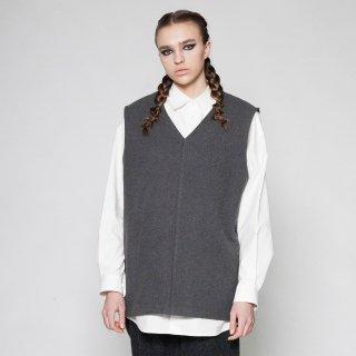 VOAAOV<br>cotton melton V/N vest