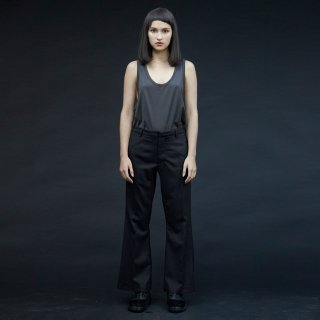my beautiful landlet<br>twill wool boot cut pants<img class='new_mark_img2' src='https://img.shop-pro.jp/img/new/icons2.gif' style='border:none;display:inline;margin:0px;padding:0px;width:auto;' />