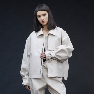 my beautiful landlet<br>bouble cloth short blouson<img class='new_mark_img2' src='https://img.shop-pro.jp/img/new/icons2.gif' style='border:none;display:inline;margin:0px;padding:0px;width:auto;' />