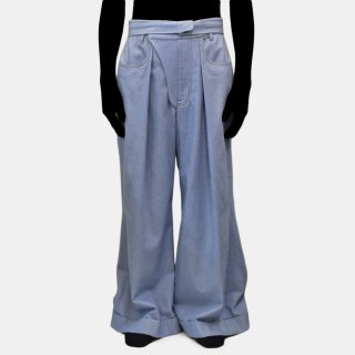 Re:quaL≡<br>Denim Slacks<img class='new_mark_img2' src='https://img.shop-pro.jp/img/new/icons2.gif' style='border:none;display:inline;margin:0px;padding:0px;width:auto;' />