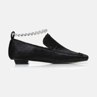 FLAT APRTMENT<br>Squared toe loafers <img class='new_mark_img2' src='https://img.shop-pro.jp/img/new/icons2.gif' style='border:none;display:inline;margin:0px;padding:0px;width:auto;' />