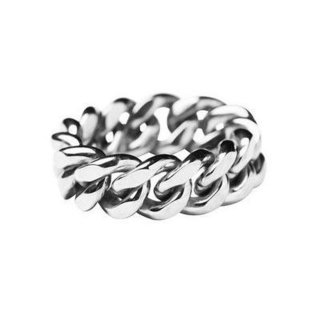 Vide Harslof<br>elsa chain ring medium  SILVER<img class='new_mark_img2' src='https://img.shop-pro.jp/img/new/icons2.gif' style='border:none;display:inline;margin:0px;padding:0px;width:auto;' />