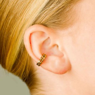 Vide Harslof<br>elsa earclip small   GOLD