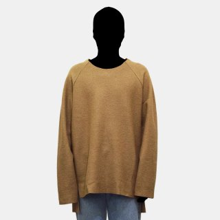VOAAOV<br>compressed wool jersey switching sweat