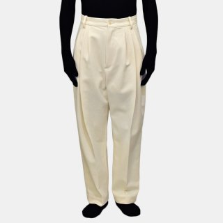 HED MAYNER<br>4 PLEAT PANTS<img class='new_mark_img2' src='https://img.shop-pro.jp/img/new/icons2.gif' style='border:none;display:inline;margin:0px;padding:0px;width:auto;' />