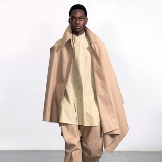 HED MAYNER<br>MILITARY CAPE<img class='new_mark_img2' src='https://img.shop-pro.jp/img/new/icons2.gif' style='border:none;display:inline;margin:0px;padding:0px;width:auto;' />