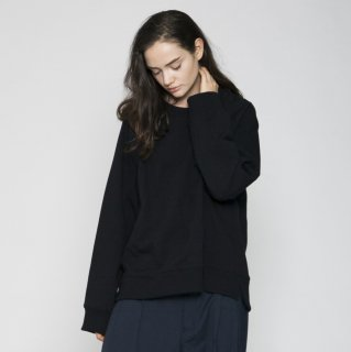 VOAAOV<br>PILE SHAPE KNITTED SWEAT