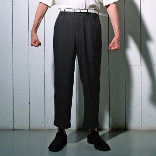 YOKO SAKAMOTO<br>CLASSIC TROUSERS<img class='new_mark_img2' src='https://img.shop-pro.jp/img/new/icons2.gif' style='border:none;display:inline;margin:0px;padding:0px;width:auto;' />
