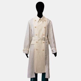 soduk<br>cut and paste linen coat