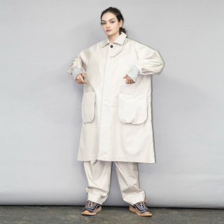 my beautiful landlet<br>CHAMBRAY GABA COAT<img class='new_mark_img2' src='https://img.shop-pro.jp/img/new/icons2.gif' style='border:none;display:inline;margin:0px;padding:0px;width:auto;' />