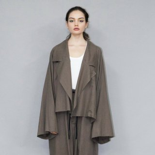 my beautiful landlet<br>COTTON LYOCEL&LINE CANVAS WIDE JACKET<img class='new_mark_img2' src='https://img.shop-pro.jp/img/new/icons2.gif' style='border:none;display:inline;margin:0px;padding:0px;width:auto;' />