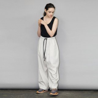 my beautiful landlet<br>COTTON LYOCEL&LINE CANVAS BACKWARP WIDE EASY PANTS<img class='new_mark_img2' src='https://img.shop-pro.jp/img/new/icons2.gif' style='border:none;display:inline;margin:0px;padding:0px;width:auto;' />