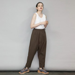 my beautiful landlet<br>TECHNO TAPERED PANTS