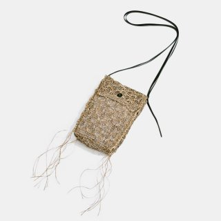 amachi.<br>Paesina Stone Knit Pochette