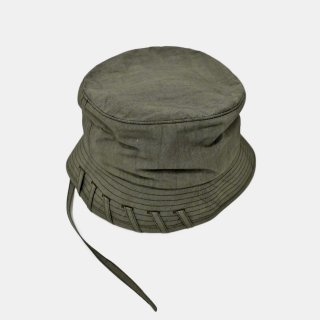 CRAIG GREEN<br>LACED BUCKET HAT<img class='new_mark_img2' src='https://img.shop-pro.jp/img/new/icons2.gif' style='border:none;display:inline;margin:0px;padding:0px;width:auto;' />