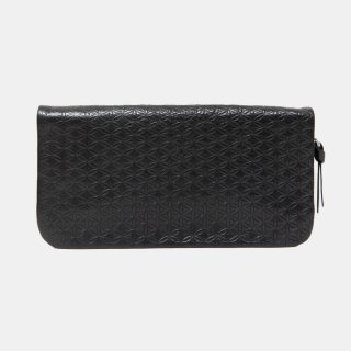 COSMIC WONDER<br>Naturally tanned leather wallet with fastener