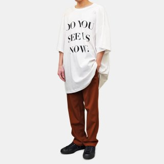 BOTTER<br>LEANING FORWARD BOTTER T-SHIRT<br>DO YOU SEE US NOW?