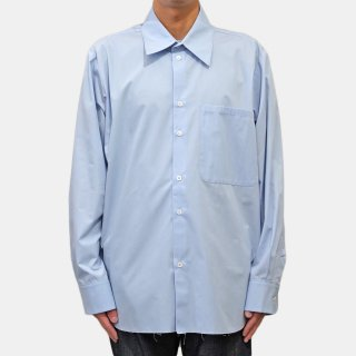 CAMIEL FORTGENS<br>basic shirt cotton<img class='new_mark_img2' src='https://img.shop-pro.jp/img/new/icons2.gif' style='border:none;display:inline;margin:0px;padding:0px;width:auto;' />