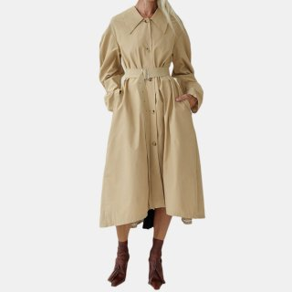 A.W.A.K.E  MODE<br>TRENCH WITH BACK PLEATED BACK INSERT