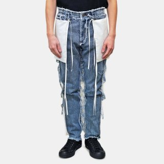 Dhruv Kapoor<br>INVERTED JEANS<img class='new_mark_img2' src='https://img.shop-pro.jp/img/new/icons2.gif' style='border:none;display:inline;margin:0px;padding:0px;width:auto;' />
