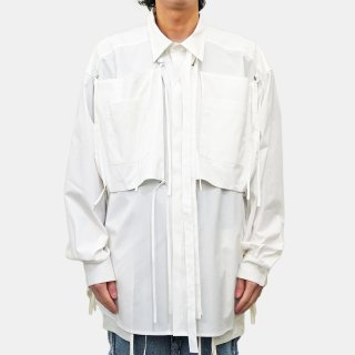 Dhruv Kapoor<br>MEGA SHIRT WITH STRING POCKETS