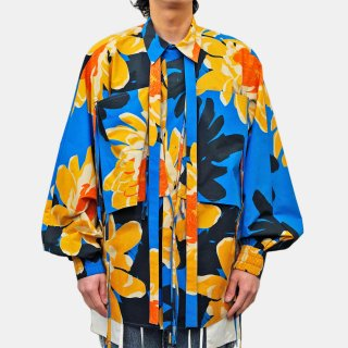 Dhruv Kapoor<br>MACRO PRINT BATWING SHIRT<img class='new_mark_img2' src='https://img.shop-pro.jp/img/new/icons53.gif' style='border:none;display:inline;margin:0px;padding:0px;width:auto;' />