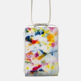 macromauro<br>SHOULDER WALLET / paint white(B)<img class='new_mark_img2' src='https://img.shop-pro.jp/img/new/icons2.gif' style='border:none;display:inline;margin:0px;padding:0px;width:auto;' />