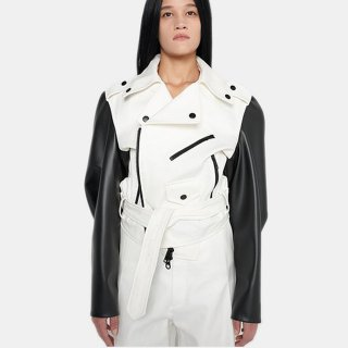 melitta baumeister<br>BIKER JACKET<img class='new_mark_img2' src='https://img.shop-pro.jp/img/new/icons2.gif' style='border:none;display:inline;margin:0px;padding:0px;width:auto;' />