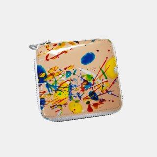 macromauro<br>paint tanned folio wallet(B)
